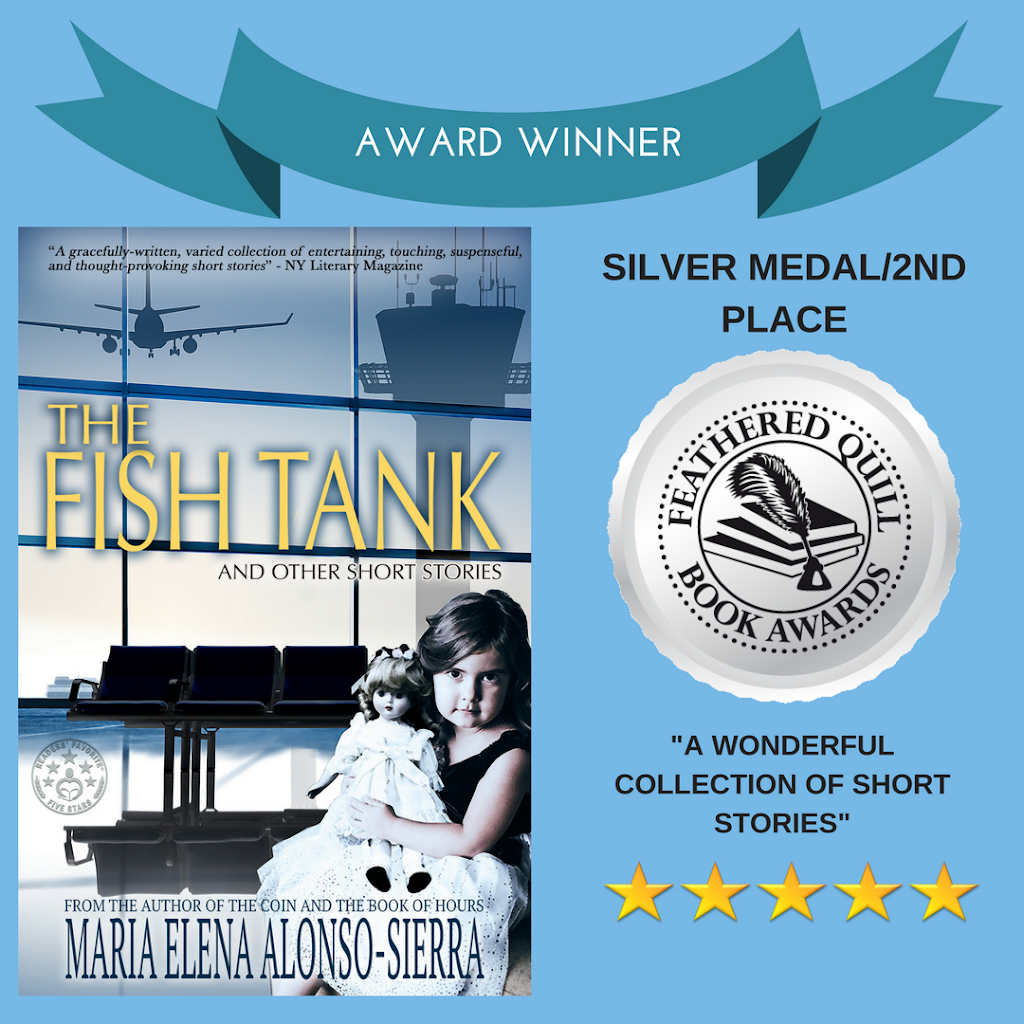 SILVER MEDAL WIN FOR THE FISH TANK SHORT STORY COLLECTION!!!